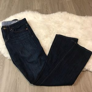 GAP 1969 Real Straight Dark Wash Jeans Size 28/6R